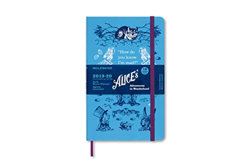 Moleskine 2019-20 Alice Wonder Daily Planner, 18M, Large,...
