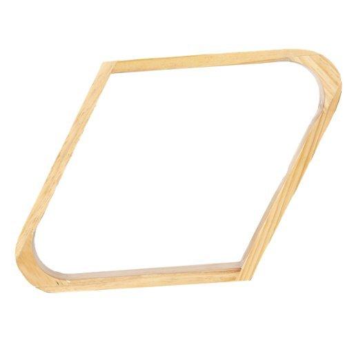 Nalmatoionme Holz Snooker Ball Rack 9-Ball Rhombus Rack f/ür 5,7/cm B/älle zuf/ällige Farbe