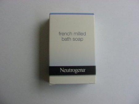 Neutrogena French Milled Soap. Lot of 22 each 1.75 oz Bars. 38.5oz Total (Milled Bar Soap)