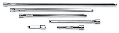 SK 4916T 6 Piece 2-Inch, 3-Inch, 6-Inch, 8-Inch, 10-Inch and 14-Inch 1/4-Inch Drive Extension Set