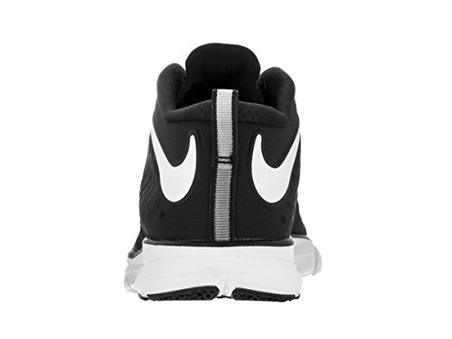 High Train Quick Black Trainer Cross White Volt Nike Shoe Men's Ankle gxBIa