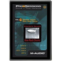 Pro Sessions Sound + Loop Libraries Vol. 44 Discrete Drums Slow Rock Drums Pro-8535