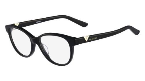 001 Black Eyeglasses - 1