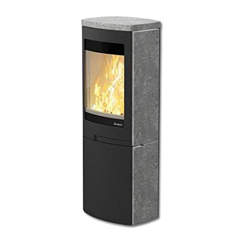 Chimenea de DUO 6 agujeros Nordpeis 5 kW estufa de leña horno de ...