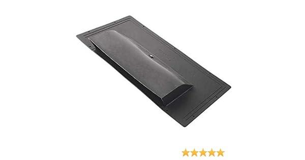Ventilación. - Negro entlüfter Ventilador de tejado plano ...