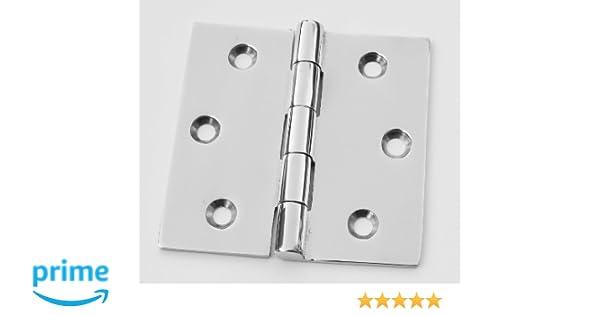 """Marine Grade Stainless Steel Boat Hardware Door Cabinet Butt Hinge 1.5/"""" x 1.5/"""""""