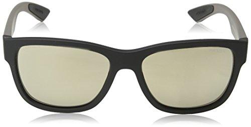 Black 0Ps Gafas Linea Rossa 03Qs Rubber sol de Prada 57 Rectangulares FH6UqTn