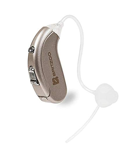 Britzgo Hearing Aid Amplifier Bha-702 with Digital Noise Cancelling, Silver, 5 Ounce