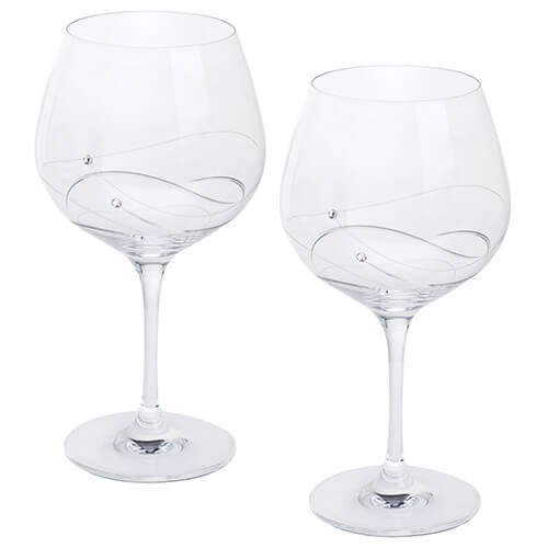 Dartington Crystal Glitz Gin and Tonic Copa Glasses, Crystal, Pair ST2557/13/P
