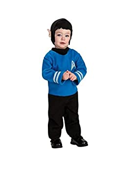 DISBACANAL Disfraz Spock Star Trek para bebé - Único, 1-2 años ...