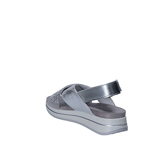 Velcro Femmes 36 Sandalo Argent 1172 Igi amp;Co wRtF4