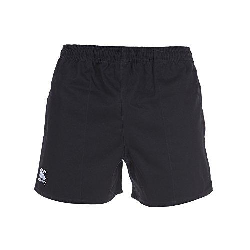 Rugby Pantalones Professional Canterbury Hombre Negro Cortos wxqF1R5v