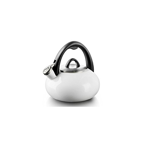 Calphalon 2 Qt White Enamel Tea Kettle