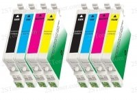 8 packs compatible ink cartridges Epson 69 ink workforce 30 40 310 500 600 610