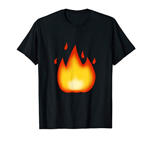 Emoji Fire Flame Hot Awesome, Exciting On