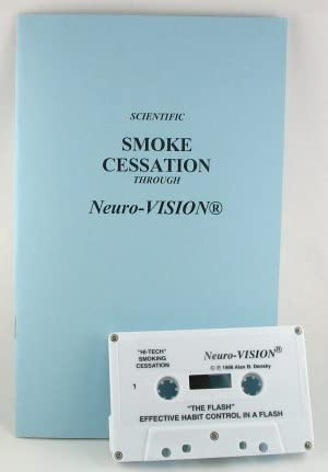 Neuro-Vision Quit Smoking! Hypnosis & NLP Cassette (Discounted Clearance Item) Stop Smoking Without Willpower, Stress or Weight Gain, Quit Smoking