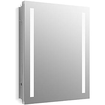 Amazon Com 701l Series Sliding Medicine Cabinet 2 Light