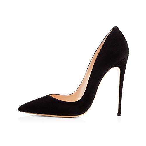 Classique Étanche Formel Talons Quotidien Chaussures Antidérapant Bout Simples Chaussures Black Plate Habillées Au Mariage Dames' Sur Fête Pointu Banc Forme Hauts nvYc4qd6