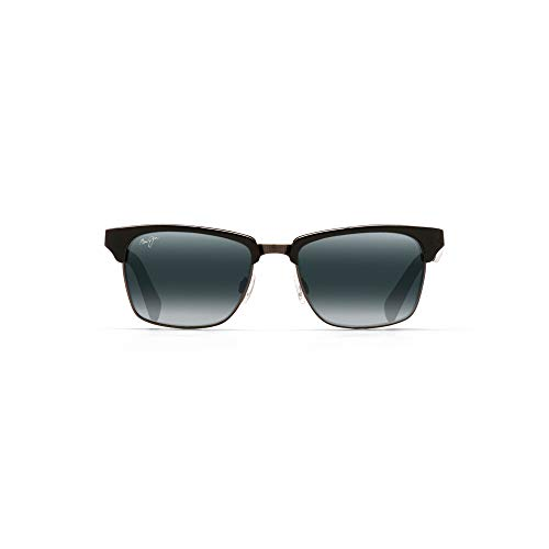 Maui Jim boysgirl's Kawika 257-17C | Sunglasses, Gloss Black, with with Patented PolarizedPlus2 Lens Technology