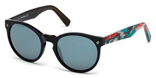 Sunglasses DSquared2 DQ 172 DQ0172 01C shiny black