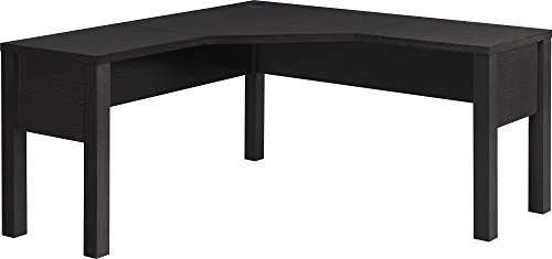 (Ameriwood Home 9820096 Princeton L-Shaped Desk, Espresso)