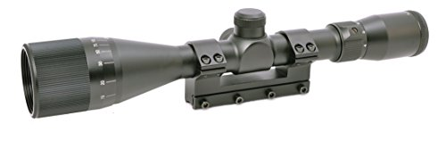 Hammers 4-12X40AO Air Gun Rifle Scope for High Power Magnum Spring Air Gun Rifle with Solid Mount Built-in Stop Pin (Best 22 Caliber Scope)