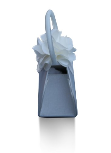 Jessidress Mädchen Kommunion Taschen Blumenmädchen Taschen Braut Taschchen Kommunionsbeutel Elfenbein/Weiß 3m6L9sj5