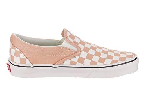 Sneaker Vans Bleached Apricot true checkerboard Einheitsgröße Classic Slip White On Damen OnwrgqwIT