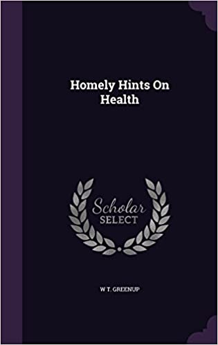 Book Homely Hints On Health