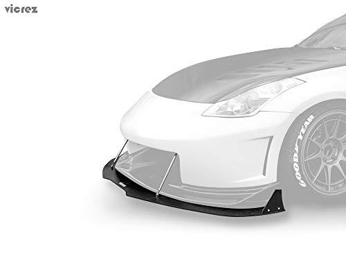 (Vicrez Nissan 350z 2003-2008 N3R / V3 Front Bumper Lip Splitter vz100591)