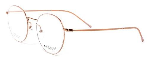 Heles Retro Pure Tianium Full Rim Glasses Optical Frame, Prescription Eyeglasses Frames, - Mens Popular Eyeglasses