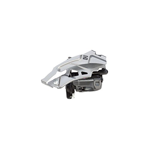 SHIMANO Alivio Down Swing 9-Speed Mountain Bicycle Front Derailleur - FD-M4000 (Top Swing - CS-ANGLE:66-69) ()