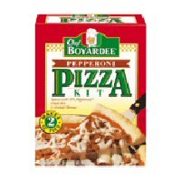 Chef Boyardee Pizza Kits - Chef Boyardee Pepperoni Pizza Kit, 31.85 oz