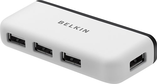 Belkin USB 2.0 4-Port Travel Hub (F4U021v)