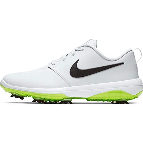 Nike Men's Roshe G Tour Golf Shoes (12 M US, Pure Platinum/Black/White/Volt Glow)
