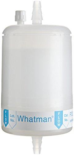 Membrane Capsule Filter - Whatman 6700-7501 Polycap TF 75 PTFE Membrane Capsule Filter with SB Inlet and Outlet, 60 psi Maximum Pressure, 0.1 Micron