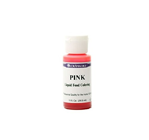 Lorann Oils Liquid Food Color, 1-Ounce, Pink