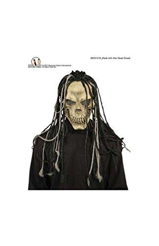 (Dead Dread Mask with Hair)