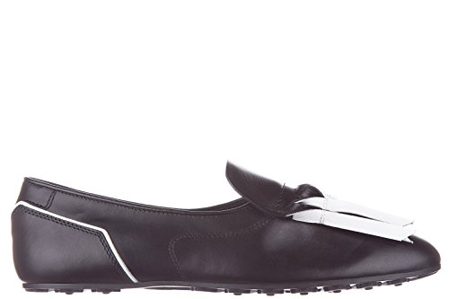 1703a070c10 hot sale 2017 Tod s women s leather slip on sneakers origami black ...