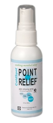FEI 11-0702-18 Point Relief Cold Spot Topical Analgesic Lotion, Spray Bottle, 16 oz. Volume (Pack of 18)