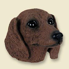 Conversation Concepts Dachshund Red Magnet (Set of 6) - Dachshund Red Magnet