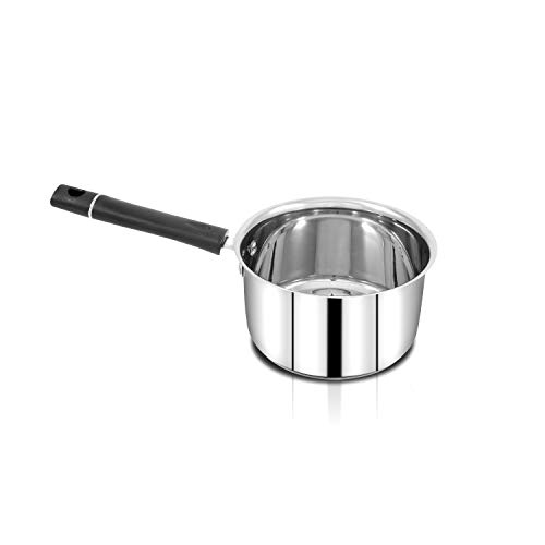 Pigeon Triply Stainless Steel Sauce Pan, 2 Litres/16cm, Silver