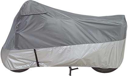 Dowco Guardian 26035-00 UltraLite Plus Water Resistant Indoor/Outdoor Motorcycle Cover: Grey, Medium