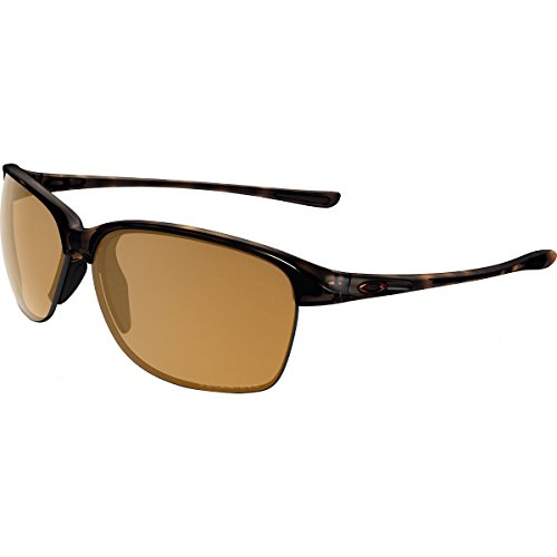 Oakley Men's Unstoppable Polarized Rectangular Sunglasses, Tortoise w/Bronze Polarized, 65 - Polarized Bronze Oakley