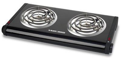 Black & Decker Double Burner