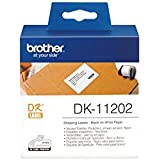 Brother DK-11202 Étiquettes d'expédition Noir/Blanc