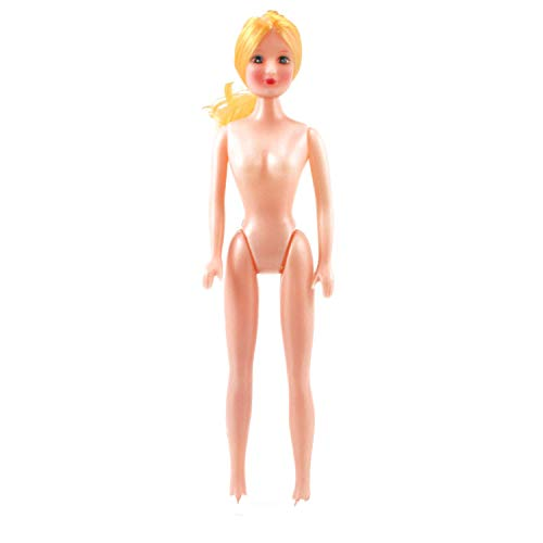 Art Cove 11 inch Plastic Craft Doll Blonde Hair Fashion Doll 1 Piece -