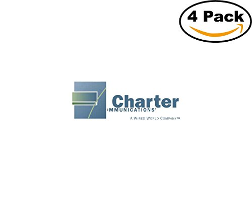 Charter Communications 4 Stickers 4X4 Inches Car Bumper Window Sticker Decal
