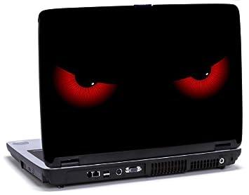 Lapjacks Evil Eyes - Pegatina decorativa de vinilo adhesivo para ordenador portátil Dell Latitude D620 y D630, diseño de ojos: Amazon.es: Informática