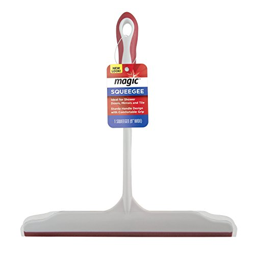 Magic Squeegee - Ideal for Shower Doors, Mirrors and Tile